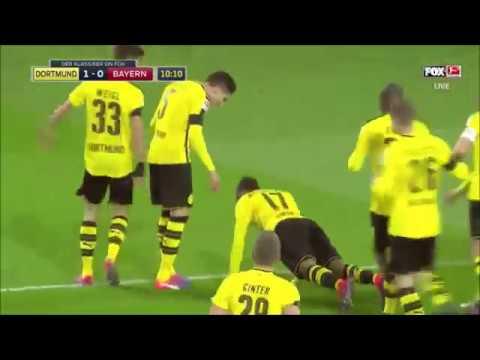 Pierre-Emerick Aubameyang goal vs Bayern Munich / 2016 11 19 / 1:0 / HQ NO WATERMARK