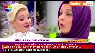 Gambar cover Nursel Demir kendini madur gösterip Zahide hanımı kandırdı.