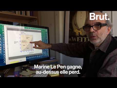 Ce chercheur pense que Marine Le Pen a une chance de gagner l'élection