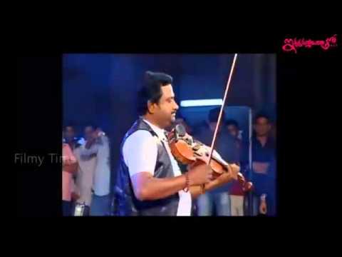 Devi Sri Prasad Ultimate ' Violin ' Song live Performance   Iddarammayilatho Audio Release   YouTube