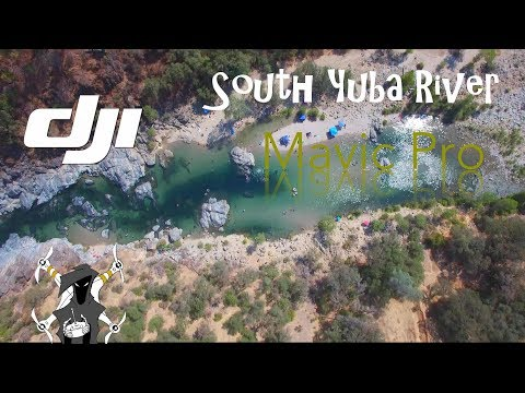 South Yuba River State Park - top drone footage