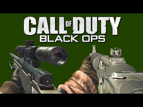 Call Of Duty: Black Ops - All Weapons Showcase