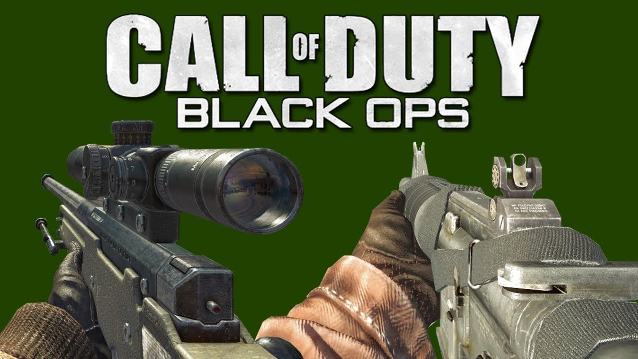 Call Of Duty Black Ops All Weapons Showcase Youtube