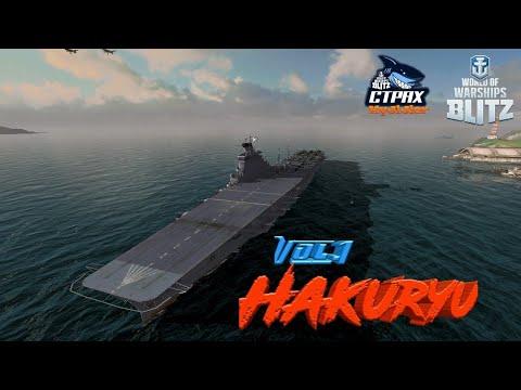 WOWS BLITZ Флот СТРАХ: Hakuryu X