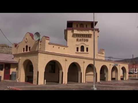 Amtrak train ride-Raton to Albuquerque, New Mexico with semaphores.