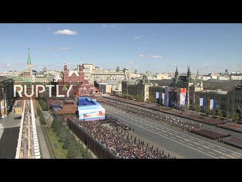 LIVE: General rehearsal for 2017 Moscow V-Day Parade