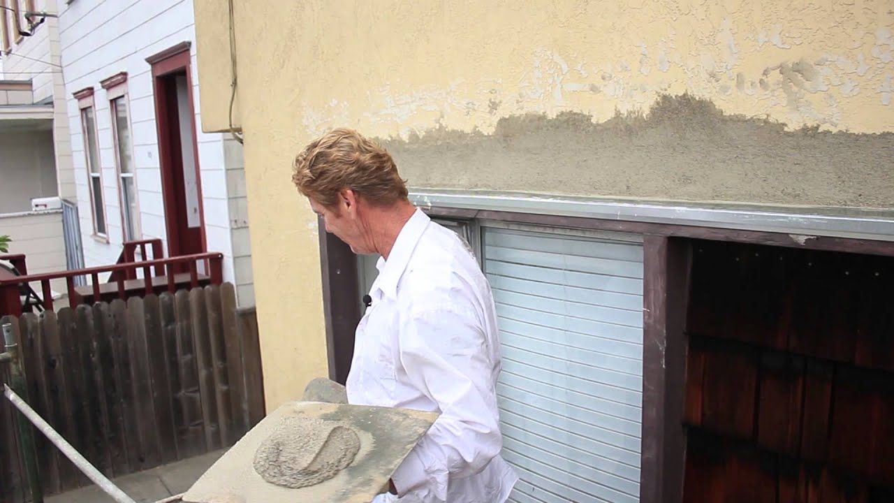 plaster patching around windows on your old home