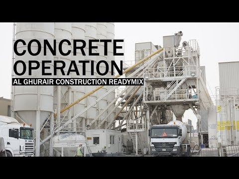 Concrete operation: Al Ghurair Construction Readymix - Plant