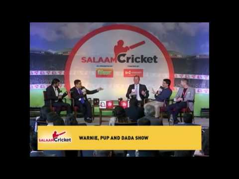 Shane Warne, Sourav Ganguly & Michael Clarke At Salaam Cricket | Exclusive