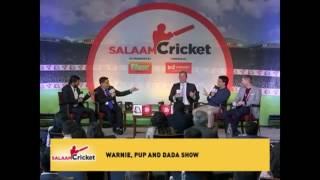 Shane Warne, Sourav Ganguly & Michael Clarke At Salaam Cricket | Exclusive