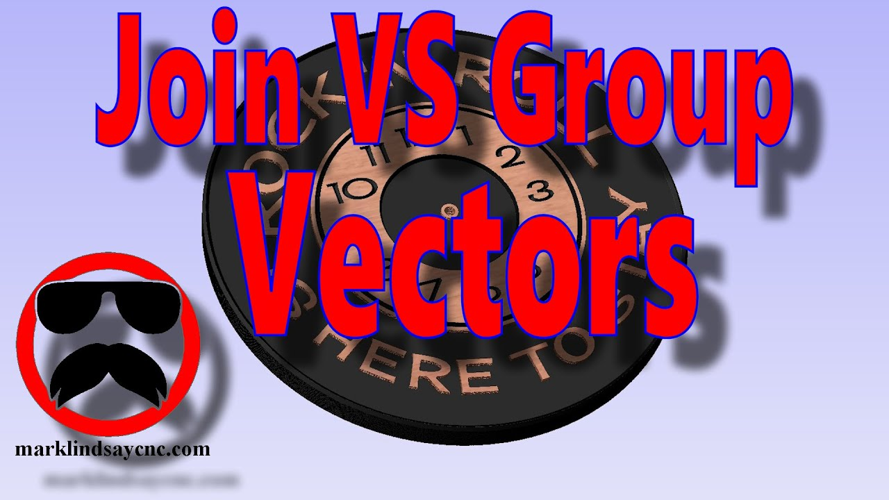 Join and Group Vectors - Part 24 - Aspire and VCarve For Absolute Beginners