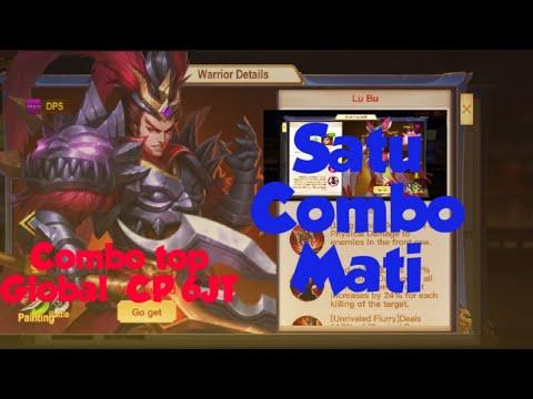 Satu Combo Mati Lubu -Dynasty Heroes Legend Of Samkok