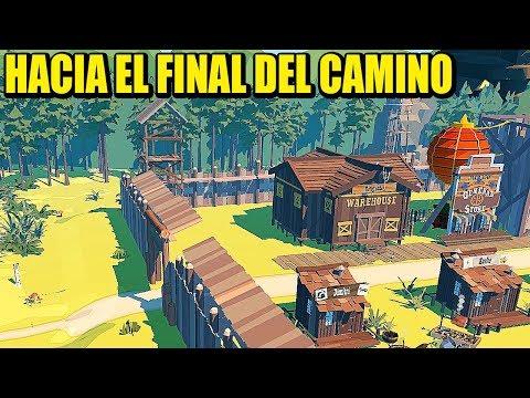VAMOS CHETOS, AMPLIANDO LA CASA, EL FINAL ESTÁ CERCA  THE TRAIL  Gameplay Español