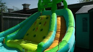 Little Tikes Rocky Mountain River Race Inflatable Water Slide Review