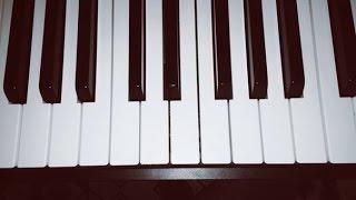 Звонки - 3G tutorial разбор песни на пианино