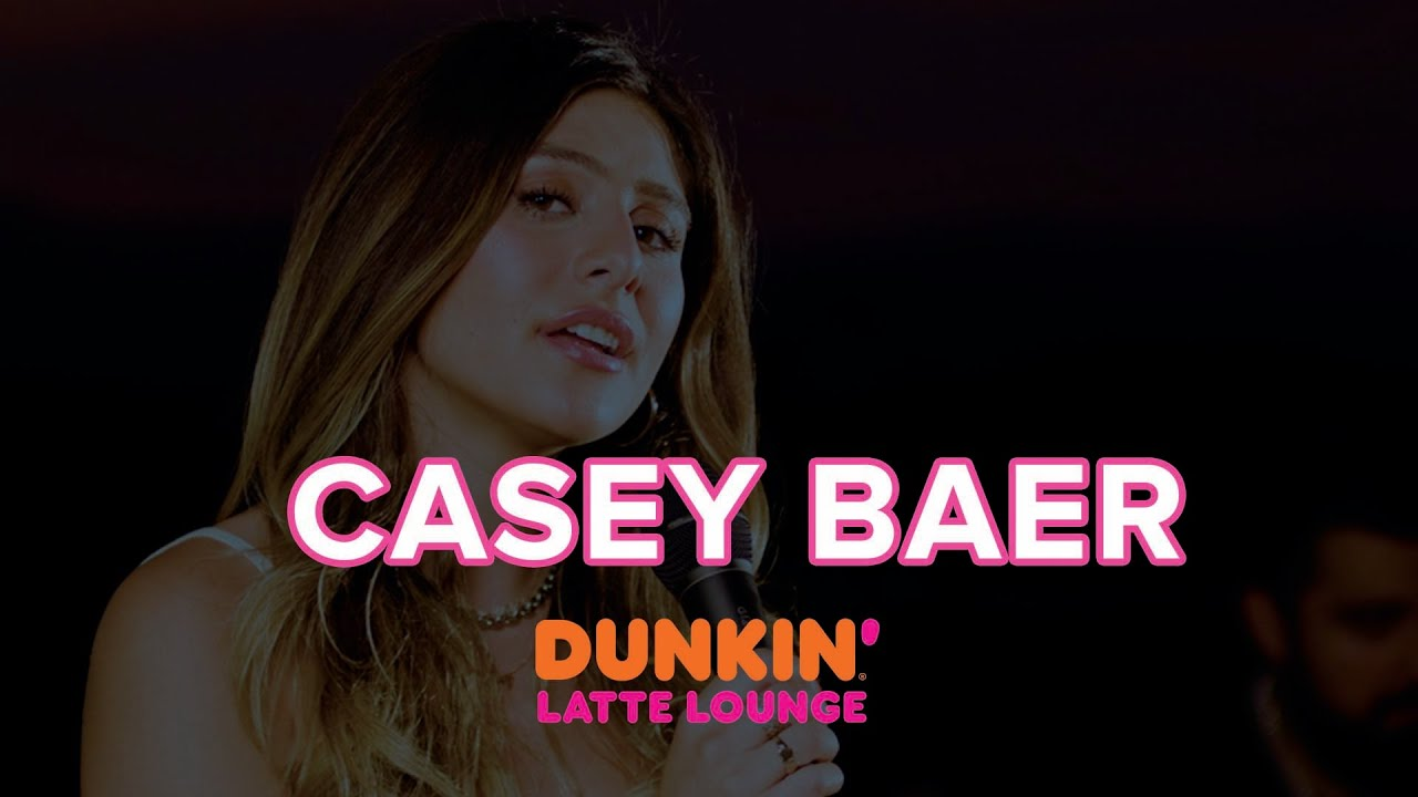 Casey Baer Performs At The Dunkin Latte Lounge