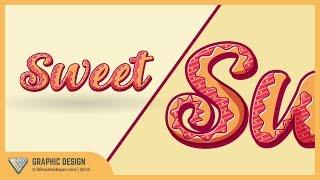 Custom Text | Text Effect Tutorial | Adobe Illustrator