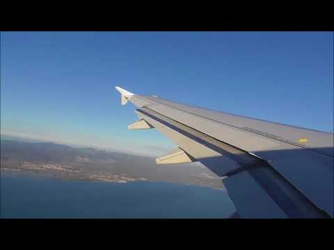 Air France A319 Powerful Takeoff From Toulon-Hyères