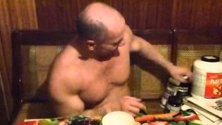 Локтионов Валерий-рассказывает,о своем питании