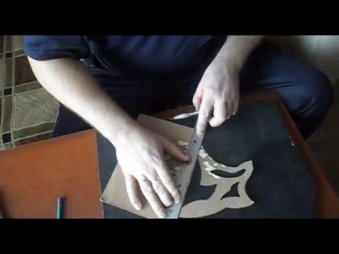 видео: Сделать трафарет?Легко! make a stencil? easily!