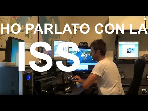 QSO con IR0ISS Luca Parmitano - Stazione Spaziale Internazionale ISS by IZ8PNU