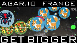 get bigger agar io france