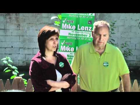 Councilwoman Carol Marsh Speaks at  the Lenz Campaign Headquarters BBQ