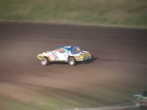 Gallatin Speedway roll over