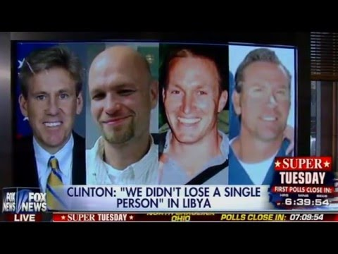 Hillary Clinton Now Claims We Didn't Lose Anyone in Benghazi - #WhatDifferenceDoesItMake