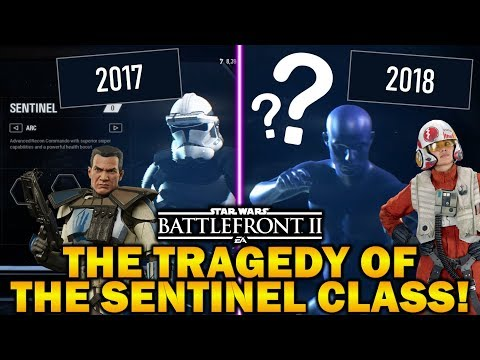 THE TRAGEDY OF THE FORGOTTEN SENTINEL CLASS! Star Wars Battlefront 2