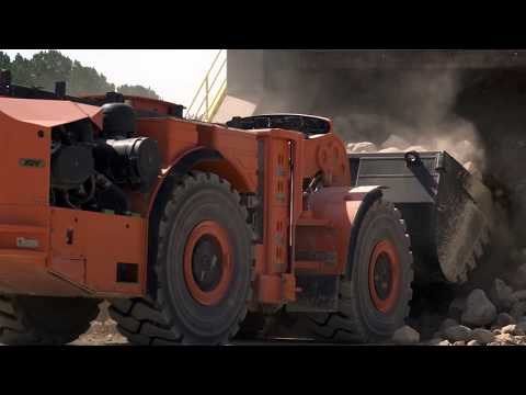 Komatsu Mining Hybrid Diesel LHDs