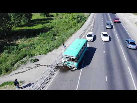 Массовое ДТП с пострадавшими под Нижним: автобус с пассажирами протаранил 4 автомобиля