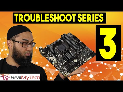 Pt 3 | Troubleshoot A Motherboard | How To Test A Motherboard | Computer Not Turning On