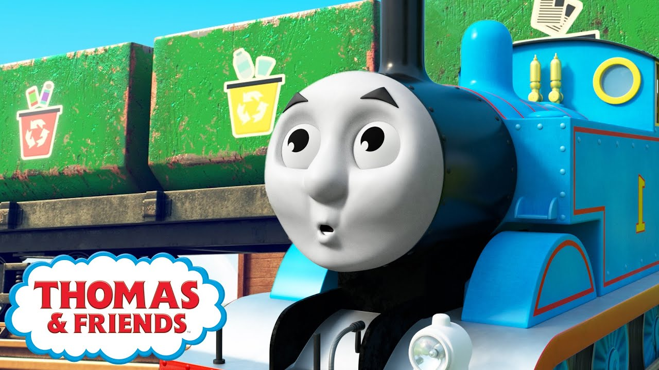 Recycling Song - NEW   Thomas & Percy Learn   Thomas & Friends™ Kids Songs