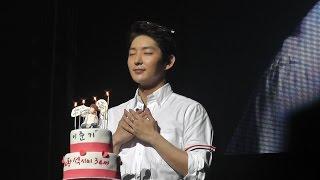 Lee Joon Gi 2015 Birthday Party(16 min) 이준기 李準基 イ・ジュンギ