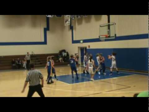 Mallory Pottorff basketball, Nucla High School 2009-2010