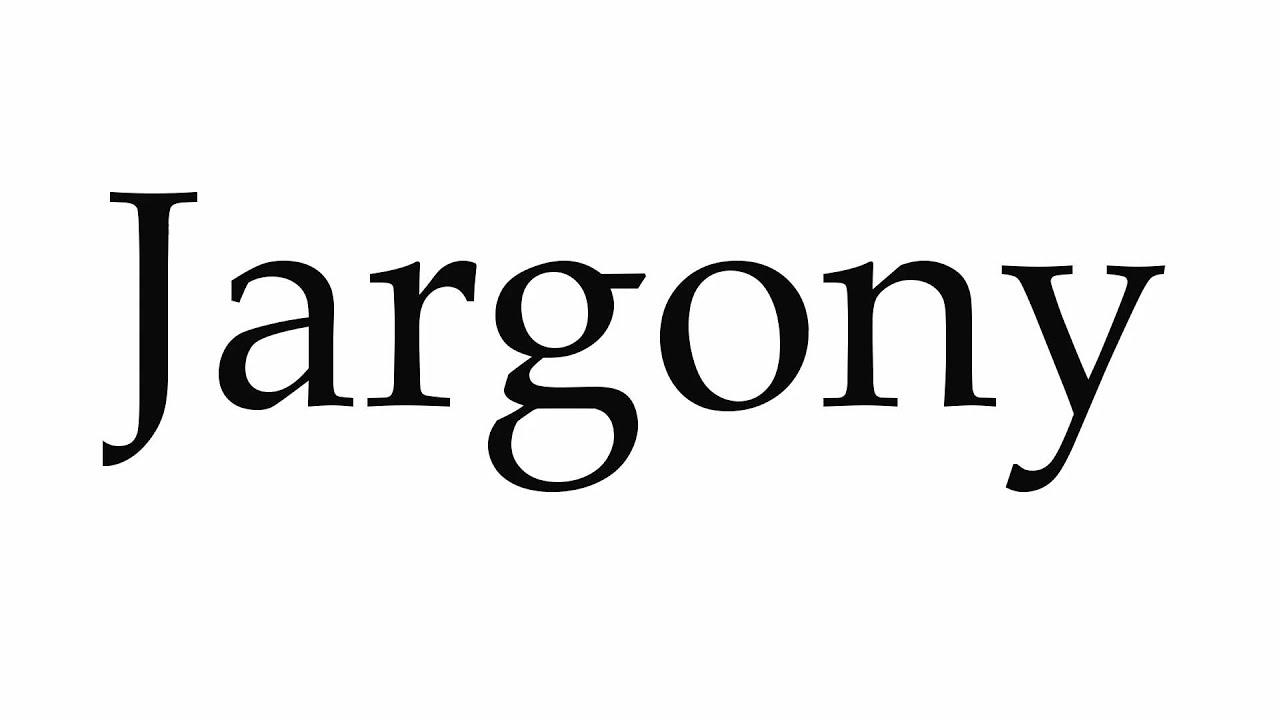 Jargony