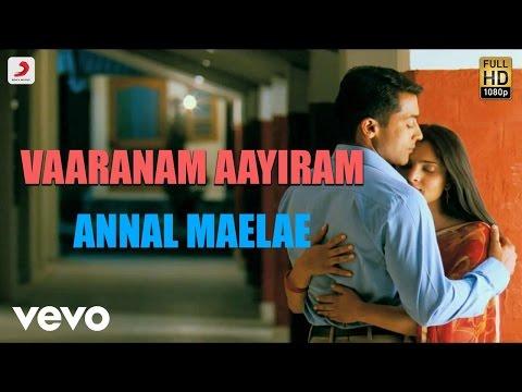vaaranam-aayiram---annul-maelae-tamil-lyric-|-harris-jayaraj-|-suriya