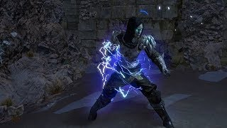 Path of Exile: Lightning Character Effect