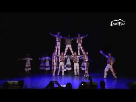 Армстайл армянский танец Сардарапат Sardarapat 2015 год