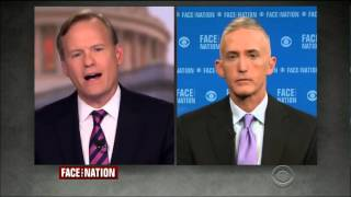 Chairman Gowdy Highlights New Emails on Face the Nation