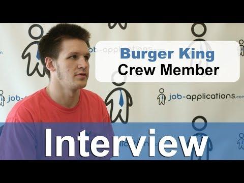 Burger King Team Member - Pay and Job Description