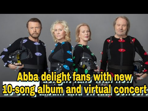 Abba delight fans with new 10-song album and virtual concert