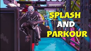 How To Complete Splash in Aquatic Parkour Park By Kiwi | Fortnite Creative Guide | Cheats