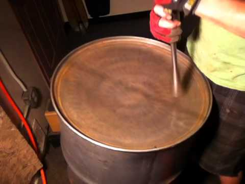 Steel Drum/Pan Building The Rowsey Way- Sinking 0-4 Inches