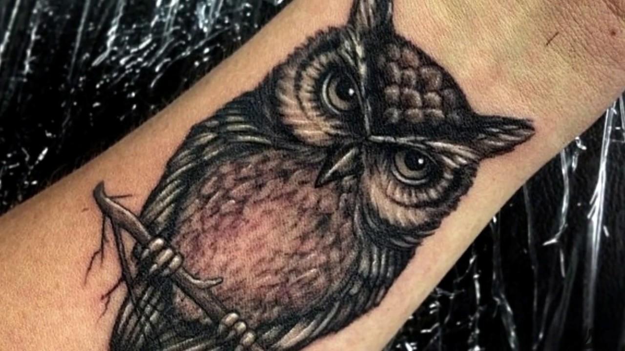 Buho Tatuaje Mandala significado de bÚhos en tatuajes🦉  que significa el bÚho en un tatuaje?🧐