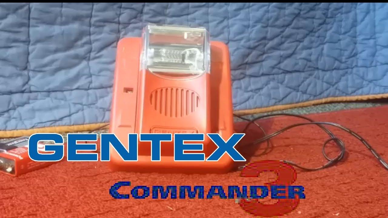 gentex commander3 gec3-24wr horn/strobe