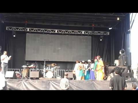 Brampton tamil seniors association group photo at Markam fair ground
