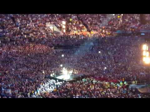 Through the rain... Coldplay in Gothenburg 2017 06 25
