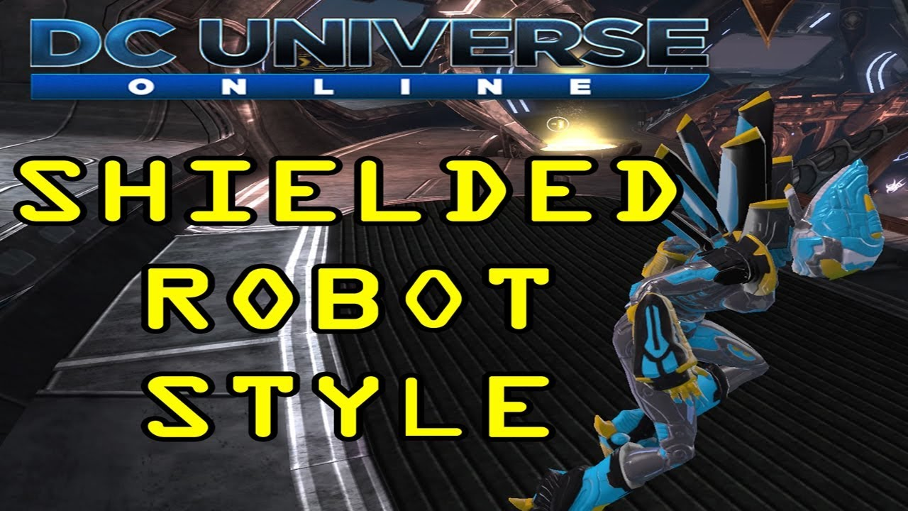 Shielded Robot Style Dc Universe Online Youtube